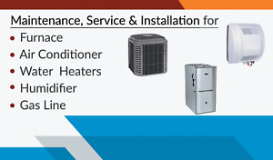 Furnace, A/C and Gas line installation!!