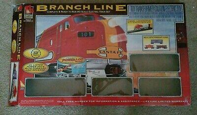 Life-Like Trains BRANCH LINE HO Scale SANTA FE 101 Electric Train Set @2006