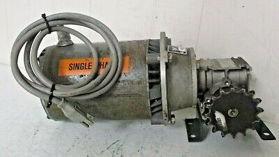 Dayton Electric Motor Direct Drive 16 H.p. 1 P.h. Hz.60 1140 Rpm W Gearbox