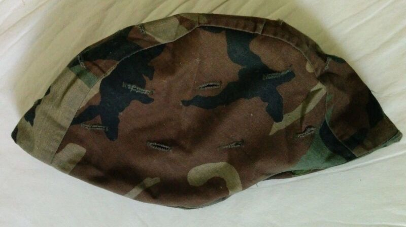 US Army/ USMC Woodland Camouflage Helmet Cover size Medium/Large