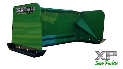 5 Xp24 John Deere Snow Pusher Box Local Pick Up-rtr Tractor Loader Snow Plow