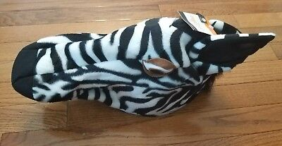 NWT Kids Zebra Hat Halloween Costume Accessory Photo Booth Movie Party Cap