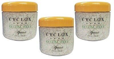 Cyclax Nature Pure Apricot Facial Scrub 300ml x 3 Pack