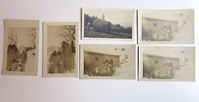 RPPC 6 Postcards Lot Upstate NY Farm Early 20th Century Unposted New York ()