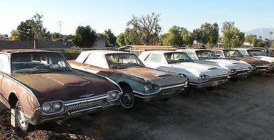 THUNDERBIRD TBIRD 1961-1966 61-66 FORD ORIGINAL USED FACTORY PARTS CARS