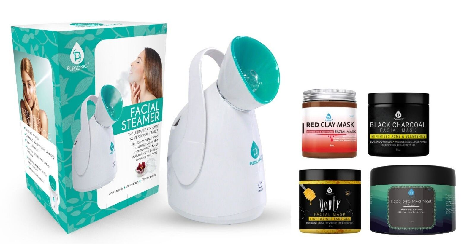facial steamer hot mist moisturizing spa w