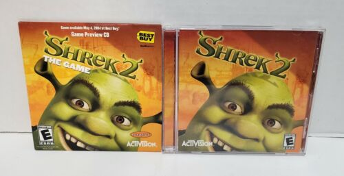 Computer Games - Shrek 2 (PC, 2004) Computer Video Game - Complete & Tested