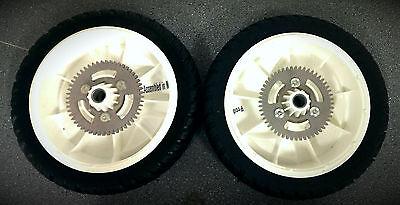 """Toro Rear Wheel & Gear x2 105-3036 22"""" Recycler 20013 20047"""