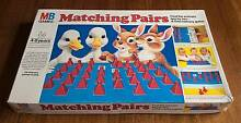 Vintage Matching Pairs Board Game - Milton Bradley 1981 Golden Grove Tea Tree Gully Area Preview