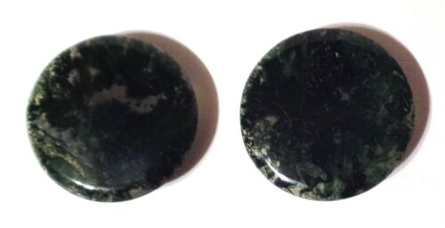 Antique Set of Agate Collar Studs / Buttons (b)