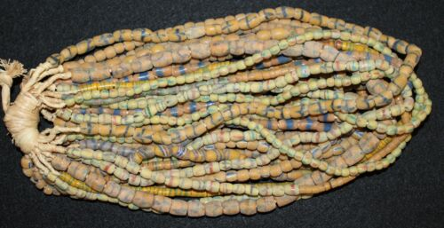 Bundle of (20) Strands of Sandcast Trade Beads #4....Buy It Now
