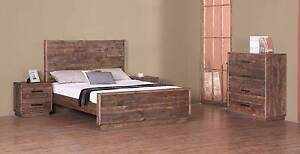 new SMOKY PINE QUEEN KING BEDROOM FURNITURE up to 30mth no inter. Bundall Gold Coast City Preview