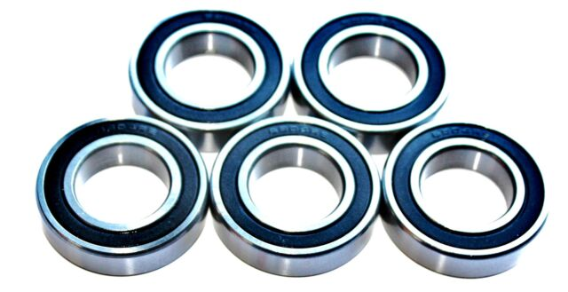 5 pack 61806 2rs [6806] 30x42x7w Thin Section SEALED HIGH PERFORMANCE BEARINGS