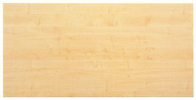 Schreibtischplatte Tischplatte Holz-Optik 160 x 80 cm Ahorn NEU+OVP
