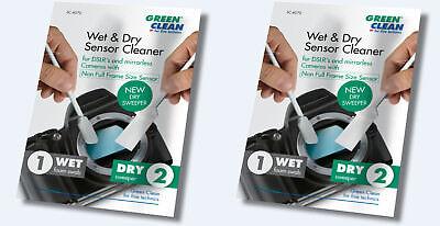 2 x Green Clean SC-4070 Sensor Reiniger,Cleaner für APS-C Kamera DSLR NEU