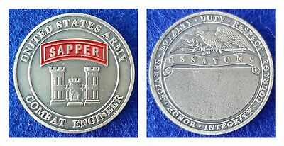 Challenge Coin: US ARMY Sapper-Ships from AZ, USA