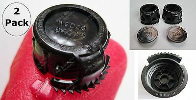 4-pcs Total 2 Screw Cap Collars 84004 Cr 2 Stoppers 84002 Gas Can Wedco Briggs