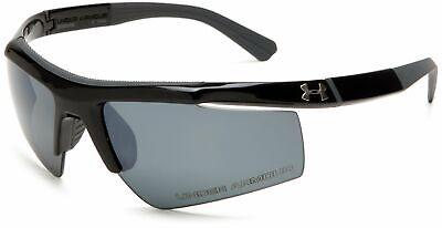 Under Armour UA Core Polarized Men's Sport Sunglasses Shiny Black Frame (Under Armour Core Sunglasses)