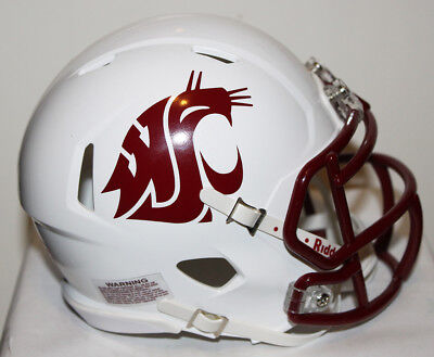 2017 Washington State Cougars Custom Riddell Mini Helmet vs Arizona - Cougar Helmet