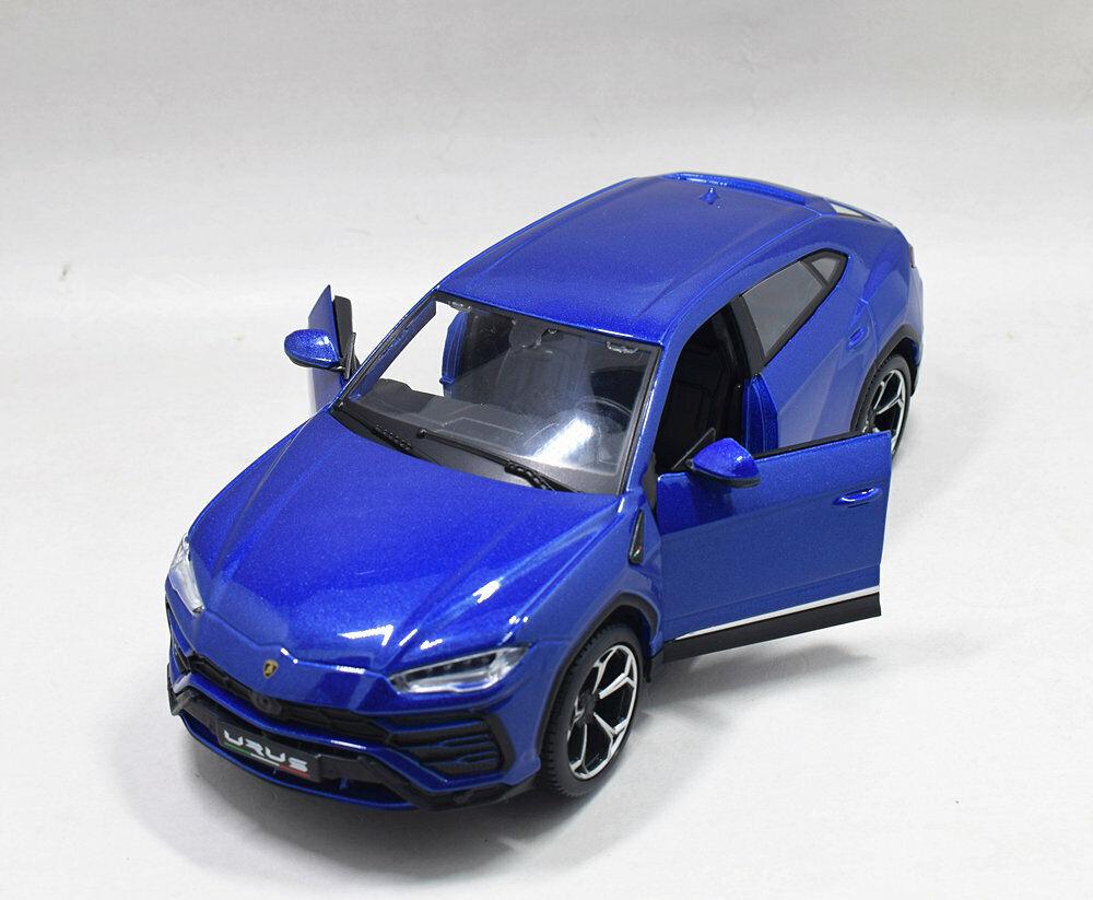 Maisto 1:24 Lamborghini Urus Metal Assembly Line KIT Model Car Toy Blue