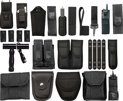Police Officer EMS Security Duty Belt Pouches & Rigs - Police Officer Belt