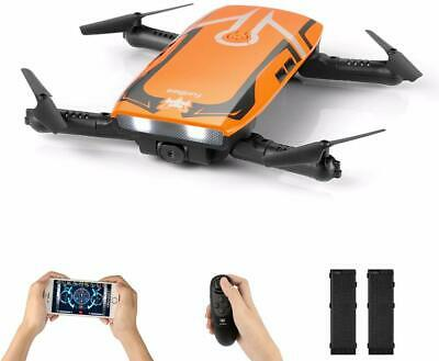 FuriBee FPV Mini Drone RC Quadcopter 720P HD Wi-Fi Camera H818 Selfie Foldable