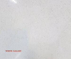 Stone Benchtop New White Galaxy 20mm Engineered Stone Braybrook Maribyrnong Area Preview