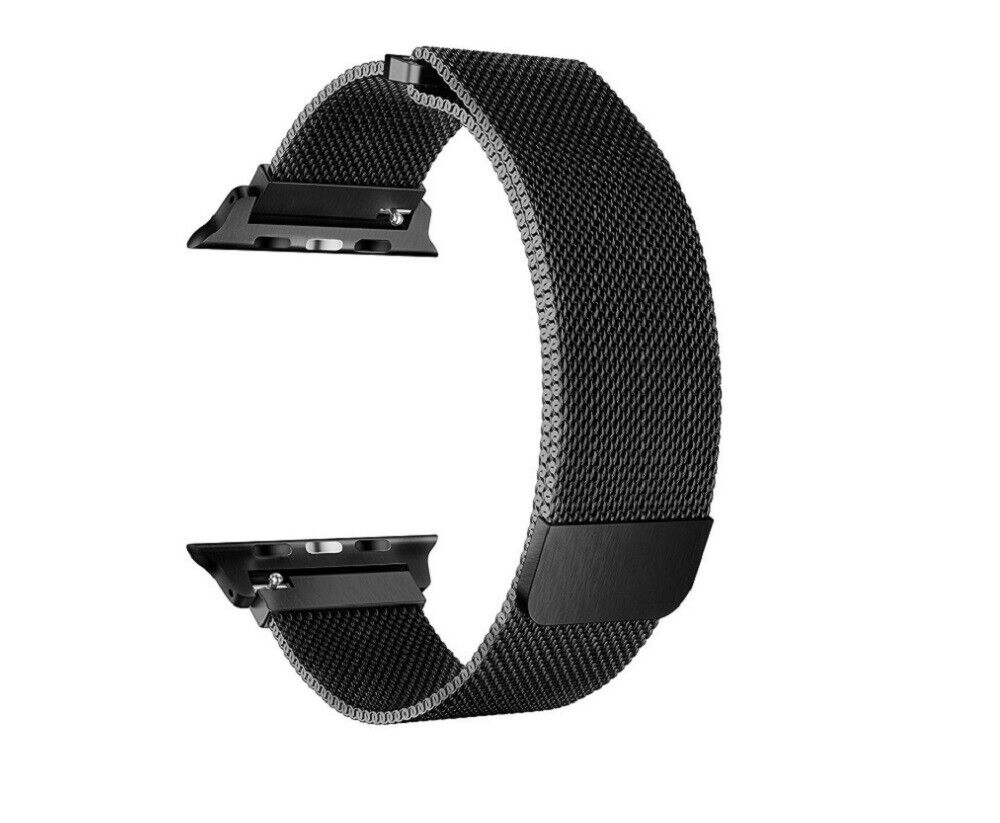 For Apple Watch Series 4/3/2/1 38mm 42mm Stainless Steel iWatch Wrist Band Strap Jewelry & Watches