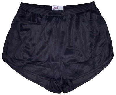 Soffe Black Nylon Ranger Panties / Silkies / Running / Track