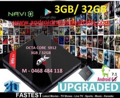 NEW 3GB/32GB H96 PRO Plus Android 7.1.1 Media TV Box S912 Kodi BT