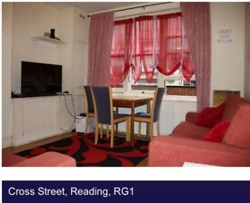 2 double bedroom flat in cross street Reading, 3 minuets walk to Reading central train station
