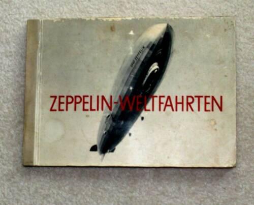 1933 Graf Zeppelin Round the World Flight Collectors Album ~ Complete ~ Airship