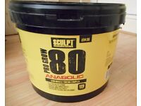 ANABOLIC PRO GROW Protein Powder 5kg used 2kg left - house clearance Bargain !!!