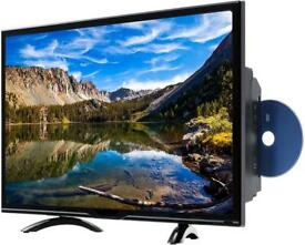 Toshiba 32 inch LED HD TV DVD with Freeview, 2 hdmi, usb, vga, AV, Scart, etc