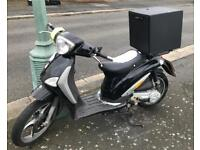 Piaggio Liberty Scooter:- perfect for Uber Eats Deliveroo