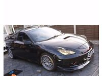 Toyota Celica AUTOMATIC 190 bhp jdm, paddle shift,18 inch alloys