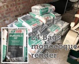 24 bags of lightened monocoque render