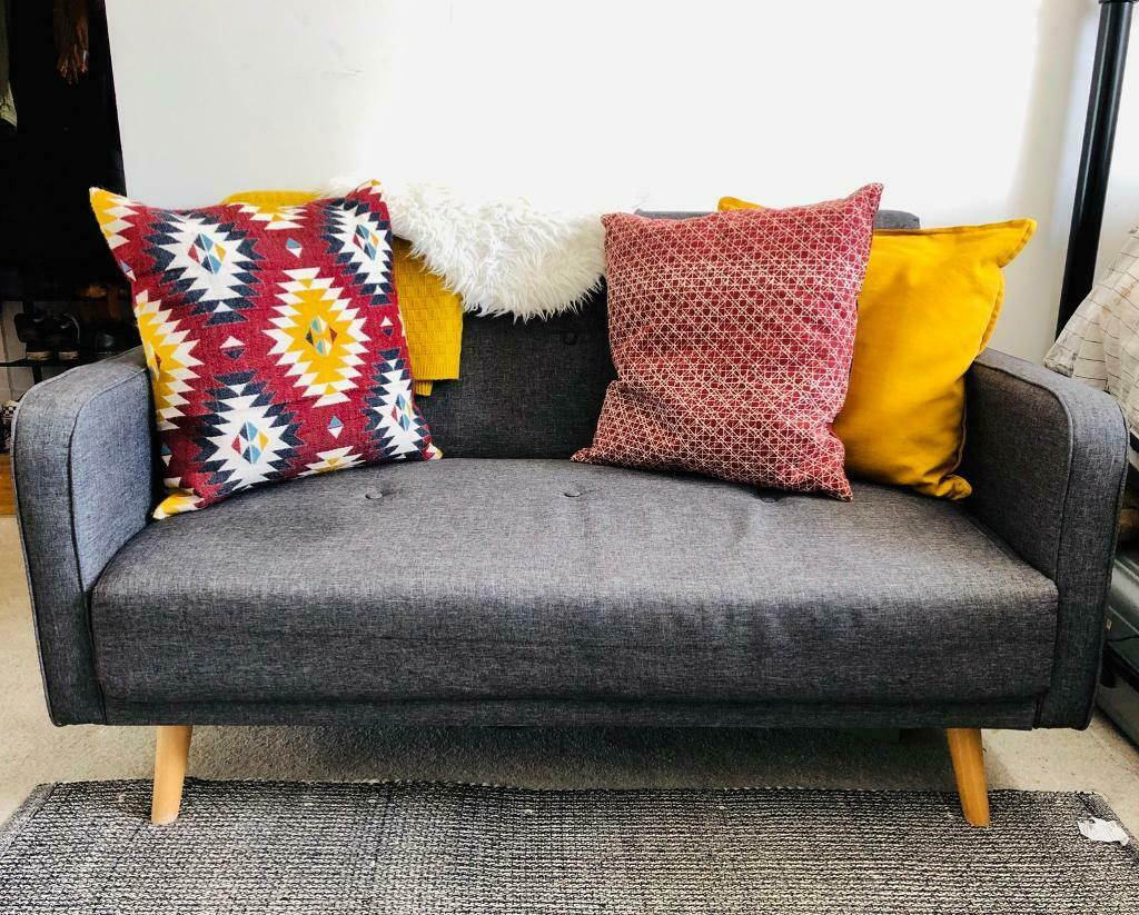 Astounding Wayfair Rayner Small 2 Seater Sofa Purchased 2017 In Camberwell London Gumtree Machost Co Dining Chair Design Ideas Machostcouk