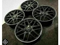 """BRAND NEW MERCEDES 19"""" 20"""" AMG STYLE ALLOY WHEELS - AVAILABLE WITH TYRES - 5 X 112"""