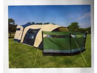 Cabanon Stratos Trailer tent unique dome shape only 3 poles easy to erect