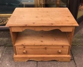 Small pine tv cabinet