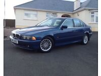 2002 BMW 5 Series 3.0 530d SE manual + last off this great model +