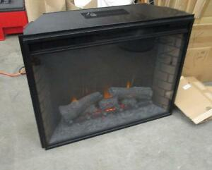 """Twin Star Electronic Fireplace Insert - 33"""" wide- Used -"""