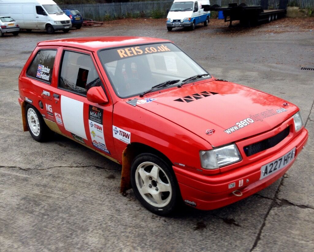 Vauxhall Nova 1400 16v Rally Car Price Dropped In