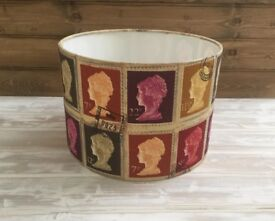 Brand New Stamp Lightshade 30cm