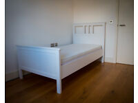 Single bed with mattress (excellent condition)