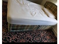 FREE INSTANT DELIVERY DOUBLE DIVAN BED WITH 2 DRAWS