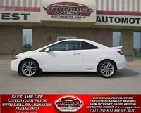 2007 Honda Civic White Si Coupe, Power Sunroof, 6 Speed