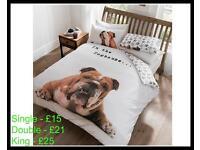 Bulldog Duvet Sets