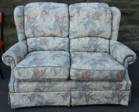 G Plan Two Seater Sofa & Chair Floral Design
